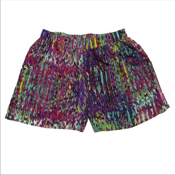 Modcloth Pants - ModCloth Rainbow Pull On Shorts